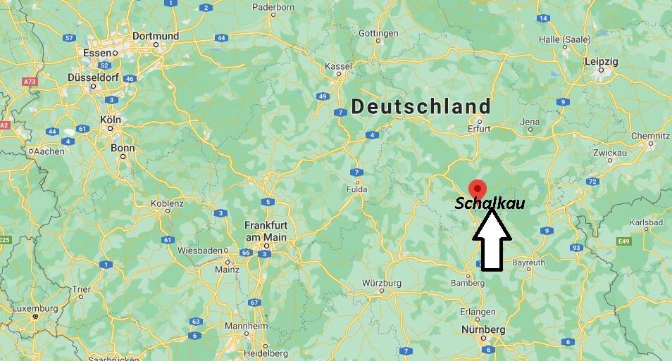 Wo ist Schalkau (Postleitzahl 96528)