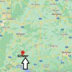 Wo ist Scheer (Postleitzahl 72516)