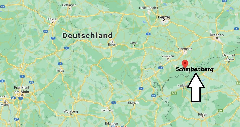 Wo ist Scheibenberg (Postleitzahl 09481)