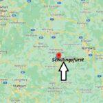 Wo ist Schillingsfürst (Postleitzahl 91583)