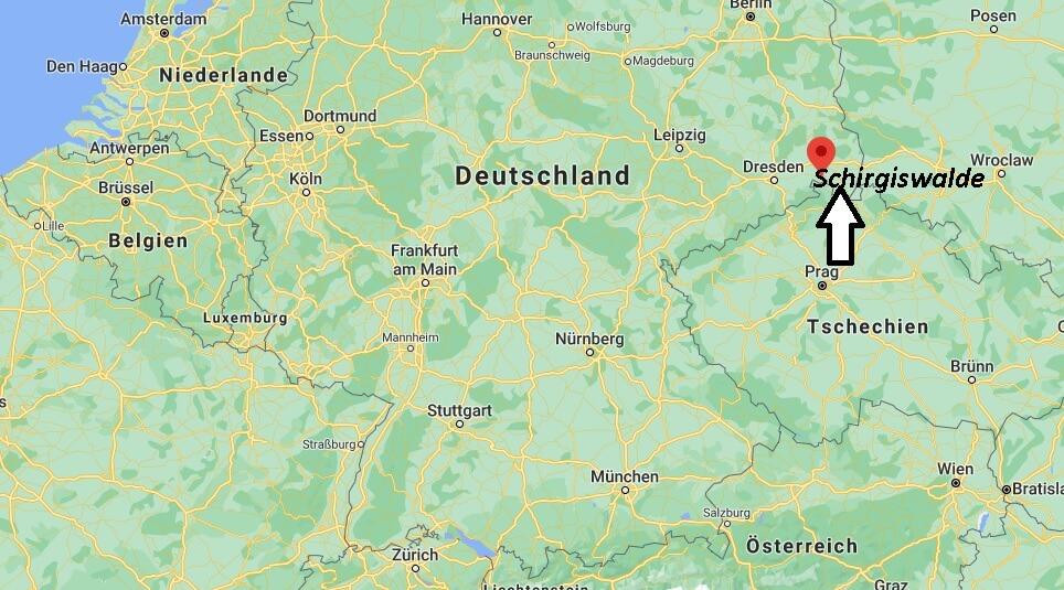 Wo ist Schirgiswalde (Postleitzahl 02681)