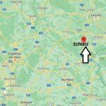 Wo ist Schleiz (Postleitzahl 07907)