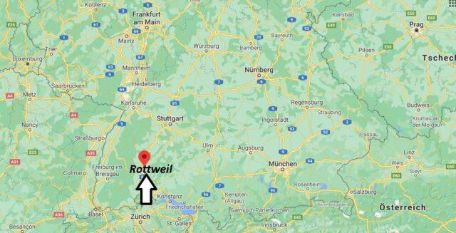 Wo liegt Rottweil
