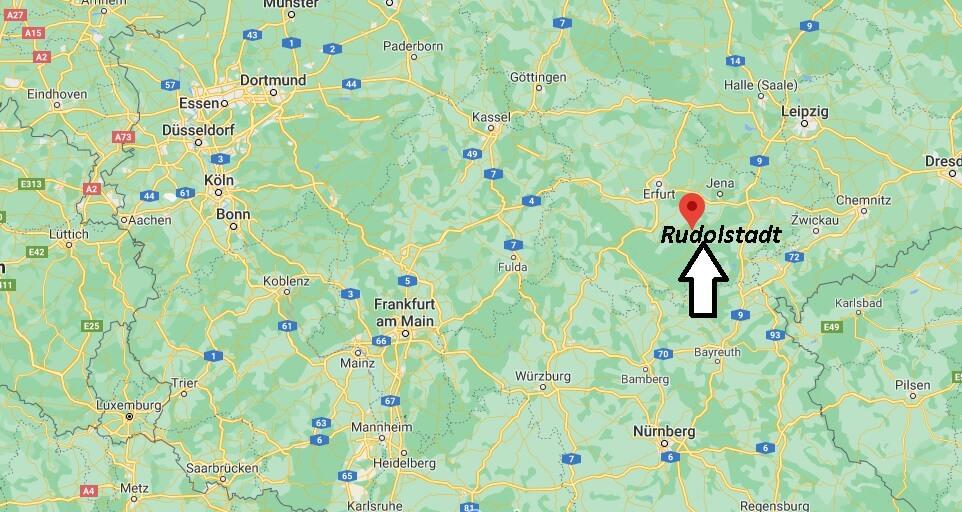 In welchem Bundesland ist Rudolstadt