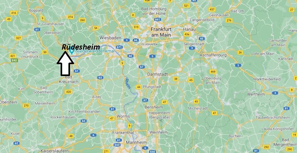 Wo liegt Rüdesheim