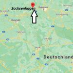 Wo liegt Sachsenhagen