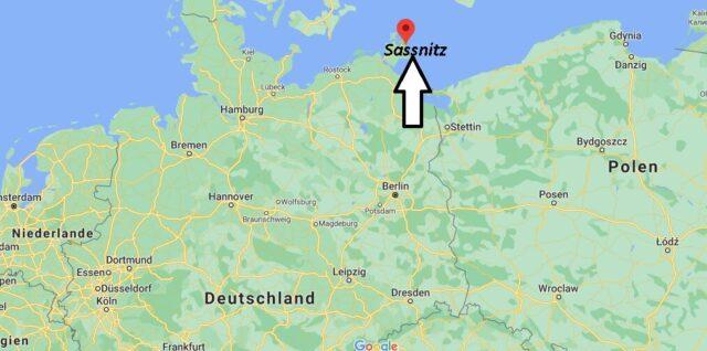 Wo liegt Sassnitz