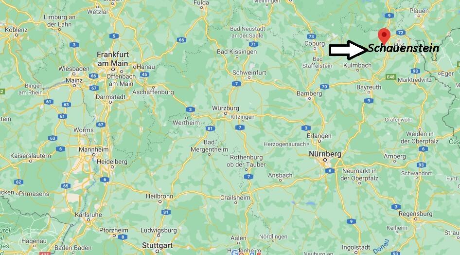 Wo liegt Schauenstein