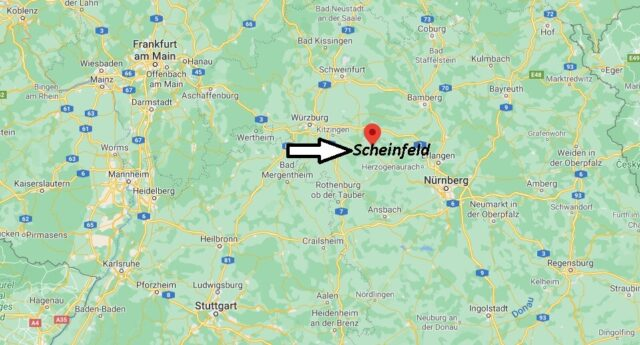 Wo liegt Scheinfeld
