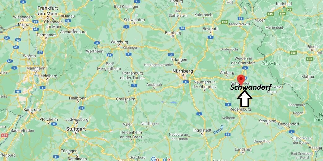 In welchem Bundesland liegt Schwandorf