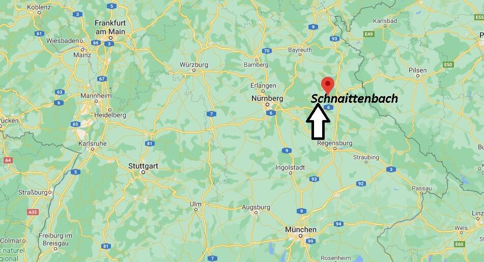 Wo ist Schnaittenbach (Postleitzahl 92253)