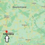 Wo ist Schömberg (Postleitzahl 75328)