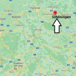 Wo ist Schöningen (Postleitzahl 38364)