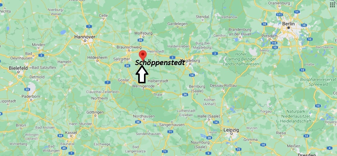 Wo ist Schöppenstedt (Postleitzahl 38170)