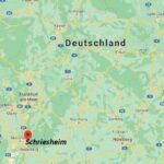 Wo ist Schriesheim (Postleitzahl 69198)