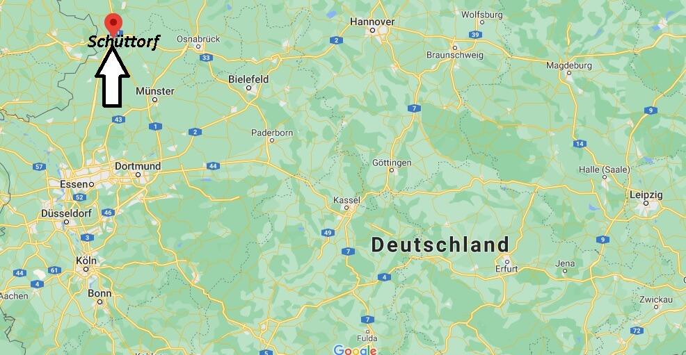 Wo ist Schüttorf (Postleitzahl 48465)