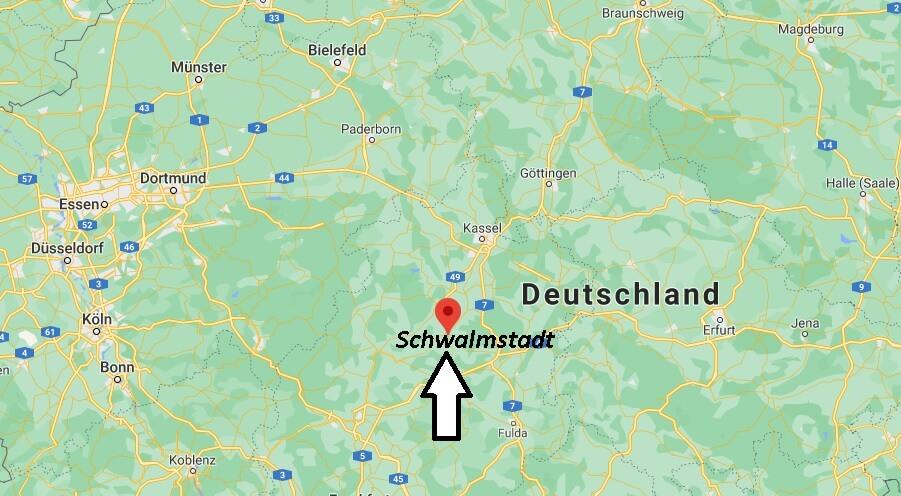Wo ist Schwalmstadt (Postleitzahl 34613)