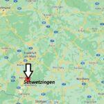 Wo ist Schwetzingen (Postleitzahl 68723)