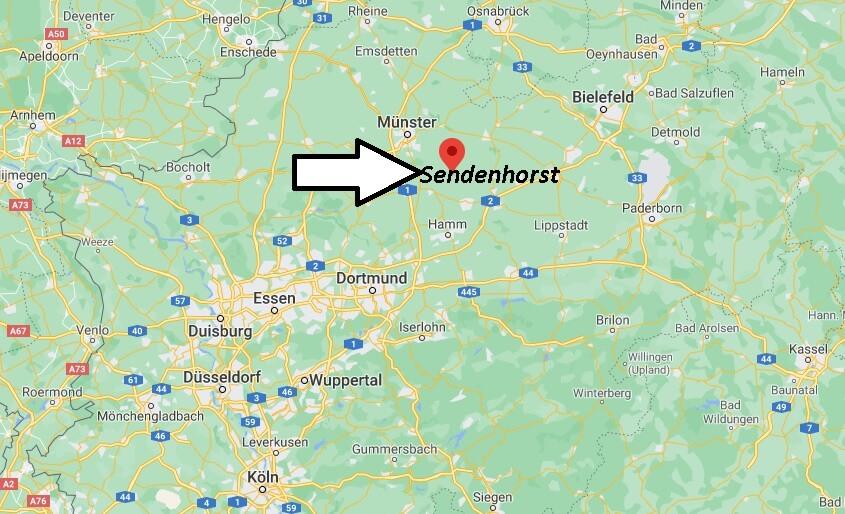 Wo ist Sendenhorst (Postleitzahl 48324)