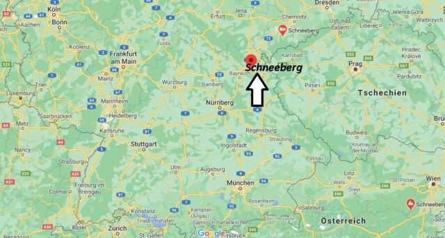 Wo liegt Schneeberg
