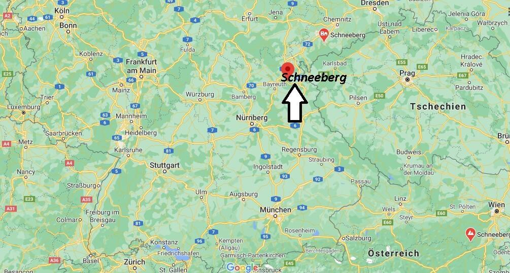 In welchem Bundesland liegt Schneeberg
