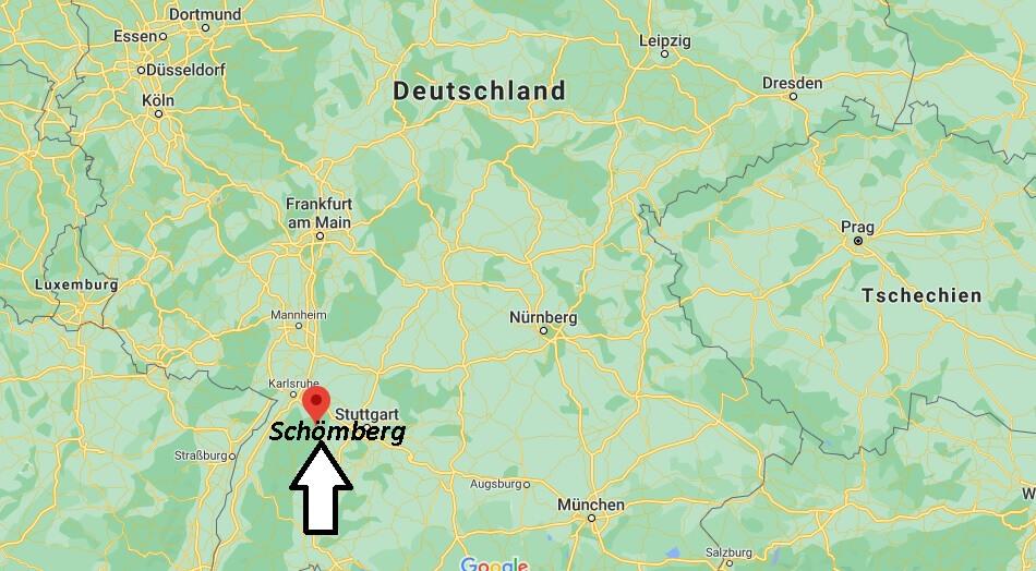 Wo liegt Schömberg
