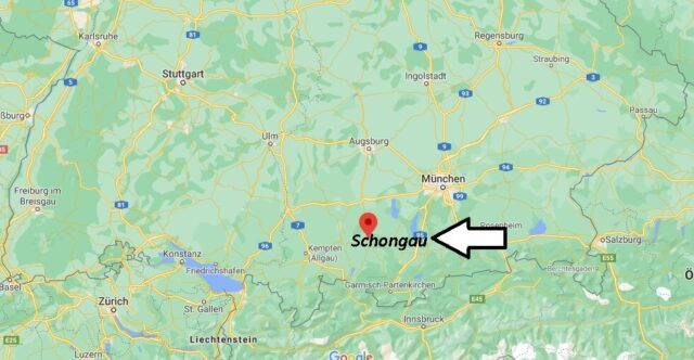 Wo liegt Schongau