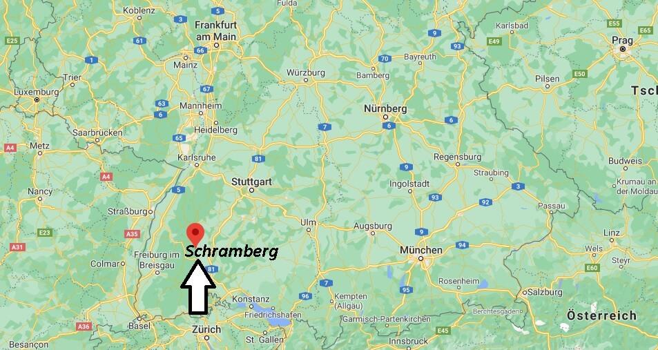 Wo liegt Schramberg
