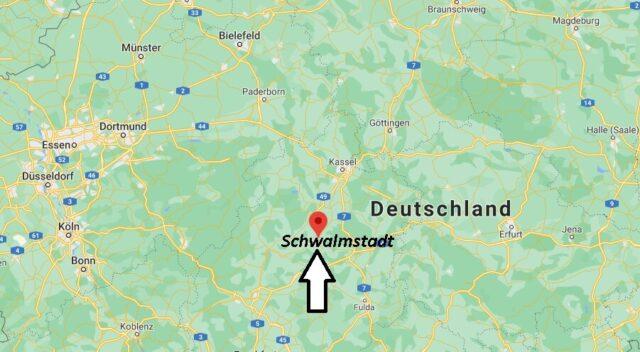 Wo liegt Schwalmstadt