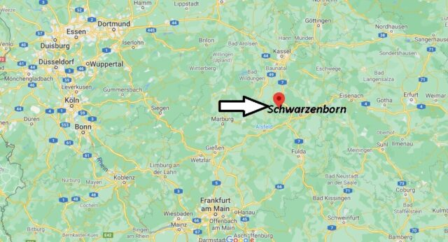 Wo liegt Schwarzenborn