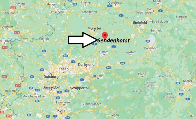 Wo liegt Sendenhorst