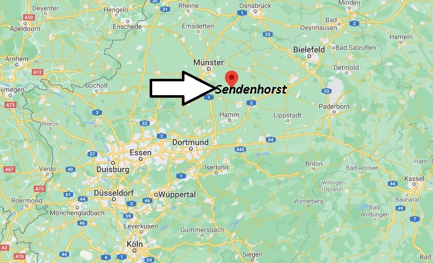 In welchem Bundesland liegt Sendenhorst