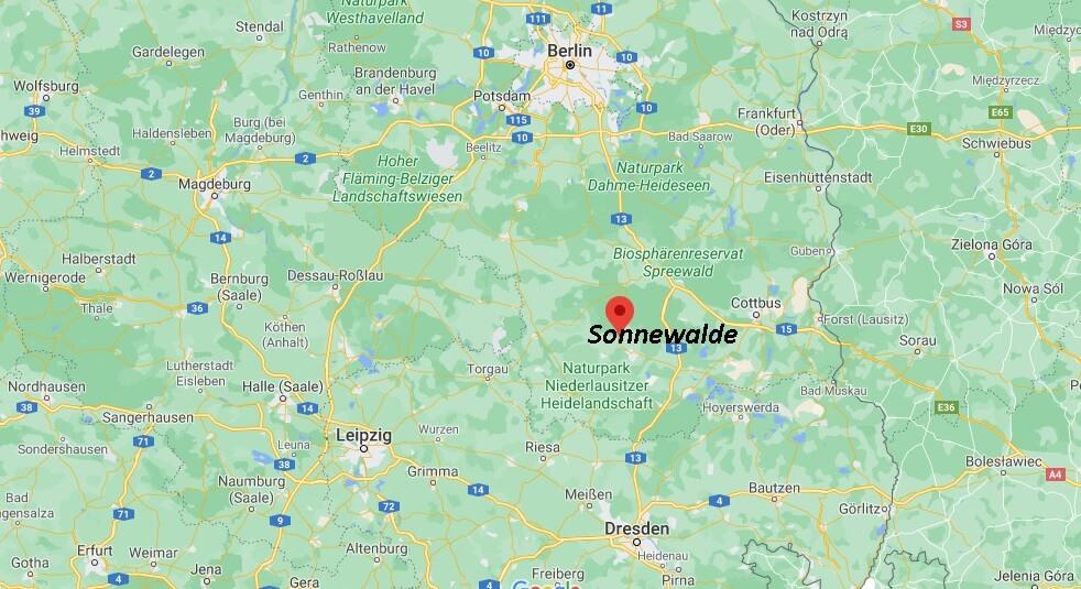 In welchem Bundesland liegt Sonnewalde