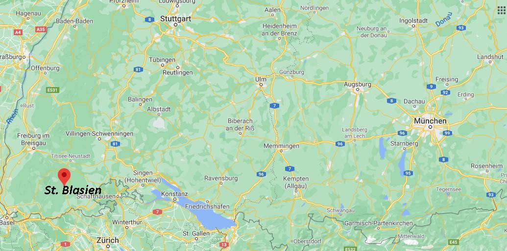 In welchem Bundesland liegt St. Blasien