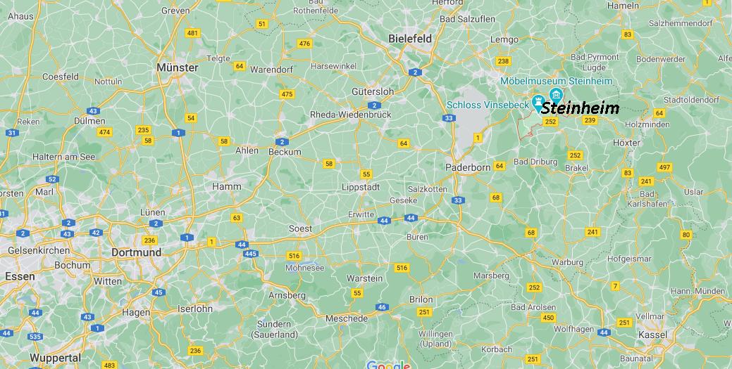 In welchem Bundesland liegt Steinheim