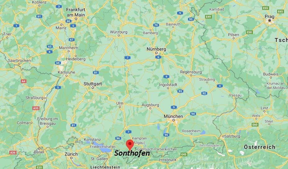 In welchem Bundesland liegt Sonthofen