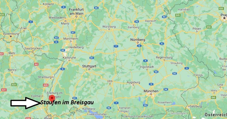 In welchem Bundesland liegt Staufen im Breisgau