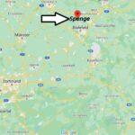 Wo ist Spenge (Postleitzahl 32139)