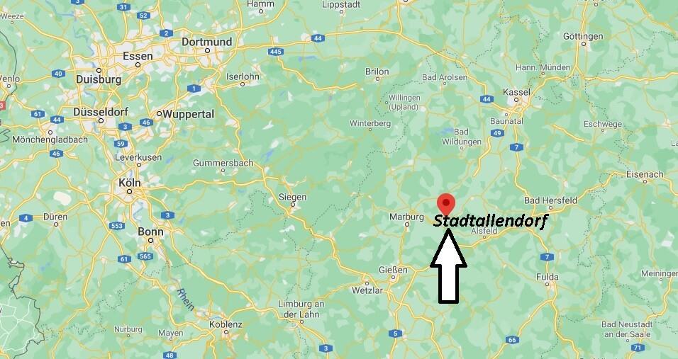 Wo ist Stadtallendorf (Postleitzahl 35260)