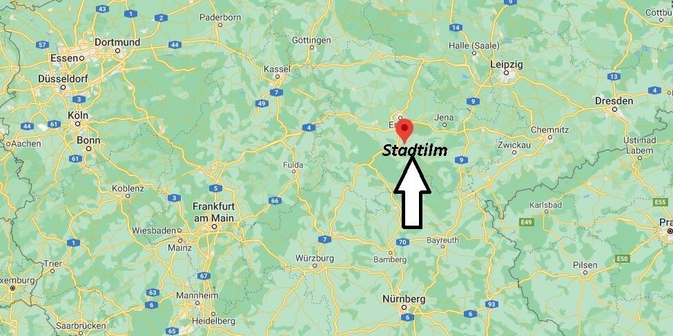Wo ist Stadtilm (Postleitzahl 99326)