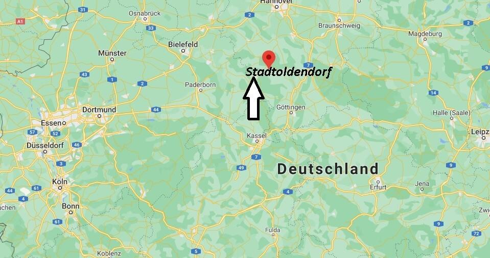 Wo ist Stadtoldendorf (Postleitzahl 37627)