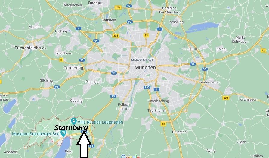Wo ist Starnberg (Postleitzahl 82319)