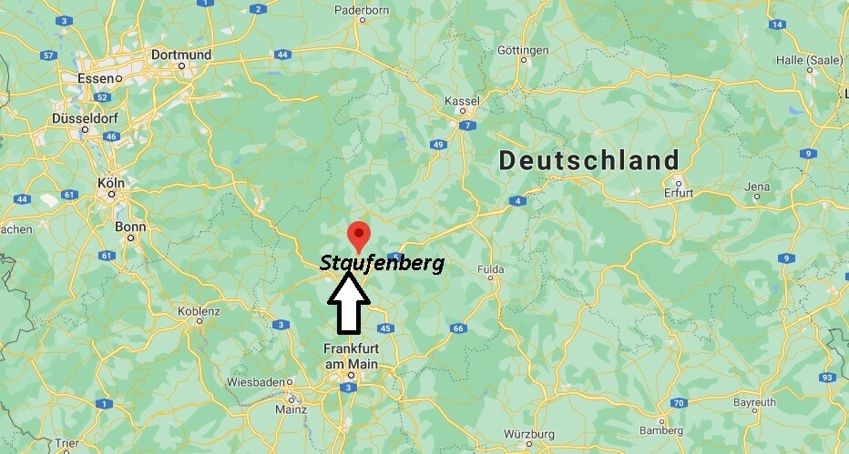 Wo ist Staufenberg (Postleitzahl 35460)