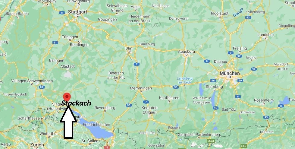 Wo ist Stockach (Postleitzahl 78333)