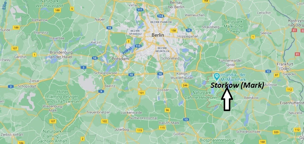 In welchem Bundesland liegt Storkow (Mark)