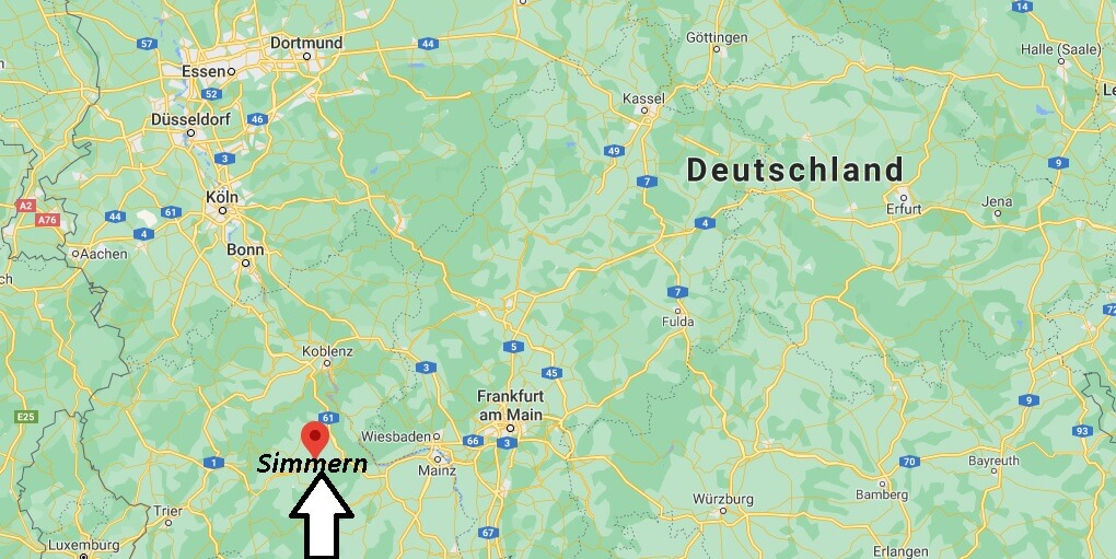 Wo liegt Simmern