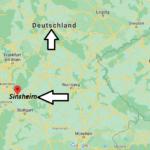 Wo liegt Sinsheim