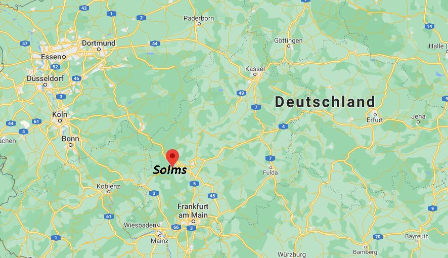 Wo liegt Solms