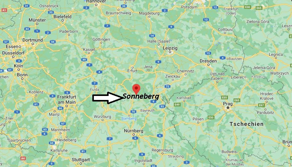 In welchem Bundesland liegt Sonneberg