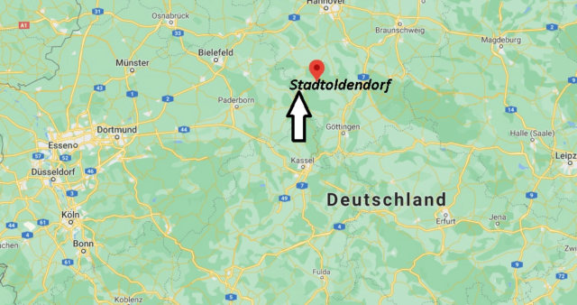 Wo liegt Stadtoldendorf